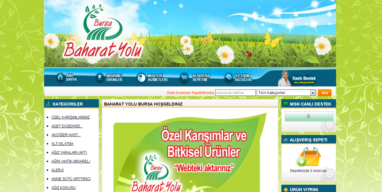 Baharat Yolu Bursa